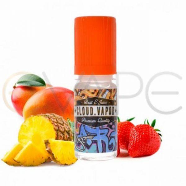 cloud-vapor-gecko-okus-ananas-jagoda-mango-brez-nikotina