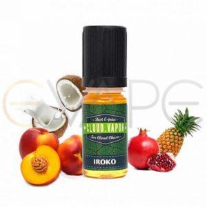 cloud-vapor-iroko-okus-Ananas-Breskev-Granatno-jabolko-Kokos-brez-nikotina