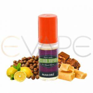 cloud-vapor-makore-okus-Karamela-Lešnik-Limona-brez-nikotina