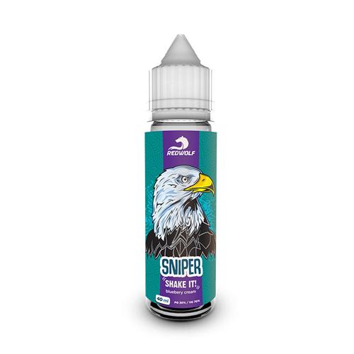 sniper okus bluebery cream borovnice krema brez nikotina